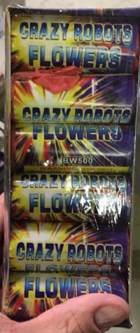 Crazy Robot Flowers