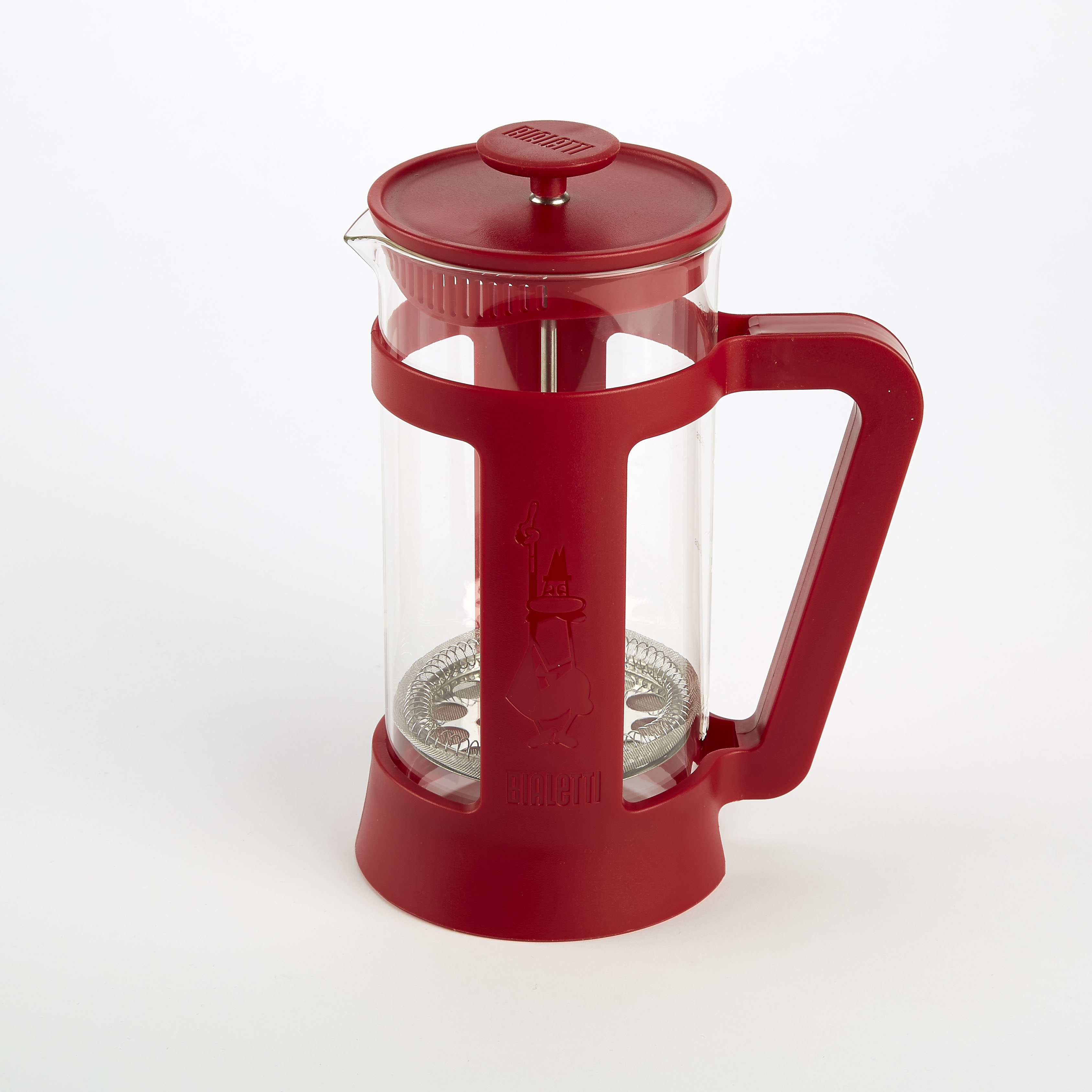 Bialetti coffee press in red