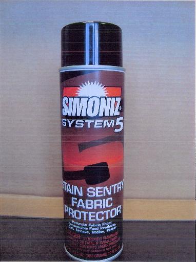 Simoniz® System 5 Stain Sentry Fabric Protector