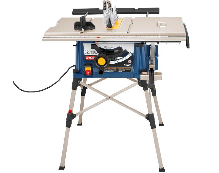 Portable Table Saws Recalled By Ryobi Due To Laceration Hazard