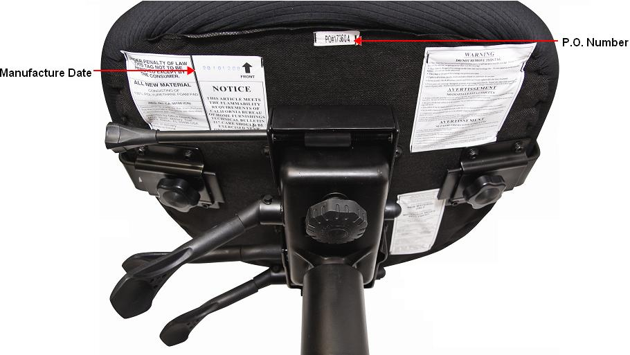 office depot recalls desk chairs due to pinch hazard | cpsc.gov