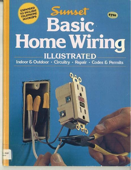 home improvement books recalled by oxmoor house due to faulty wiring rh cpsc gov House Wiring For Dummies House Wiring For Dummies