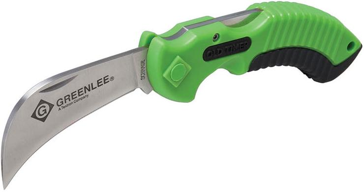 Recalled utility knife by Greenlee