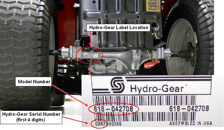 Hydrostatic Lawn Tractors Recalled by Hydro-Gear Due to Crash Hazard