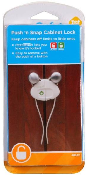 Safety 1st Cabinet Locks Recalled Due to Lock Failure; Children ...