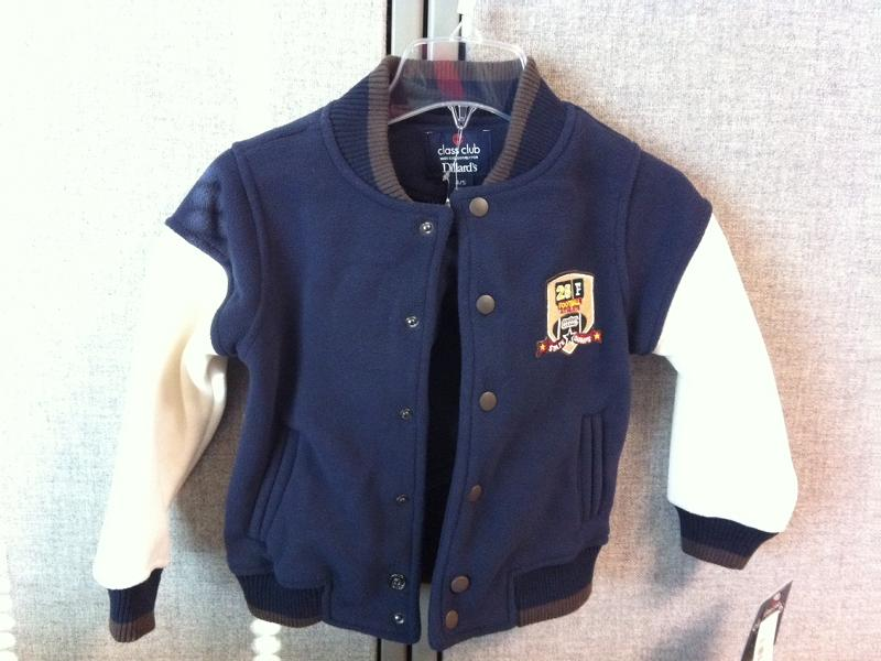 image of Class Club Children's Letterman Jackets
