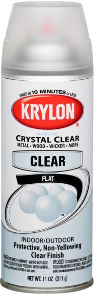 image of Krylon® Triple Thick Crystal Clear Glaze and Krylon® Indoor/Outdoor Crystal Clear Acrylic Paint