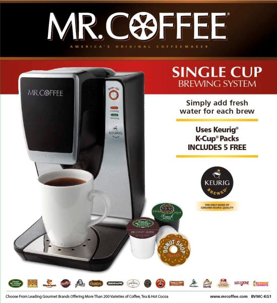 Mr Coffee Single Cup Brewers Recalled By Jcs Due To Burn Hazard