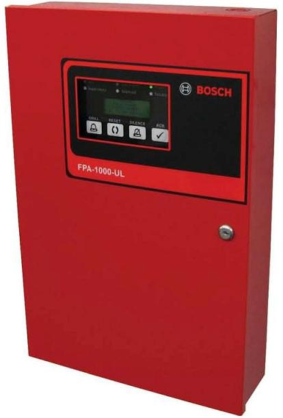 Recalled Bosch fire control panel