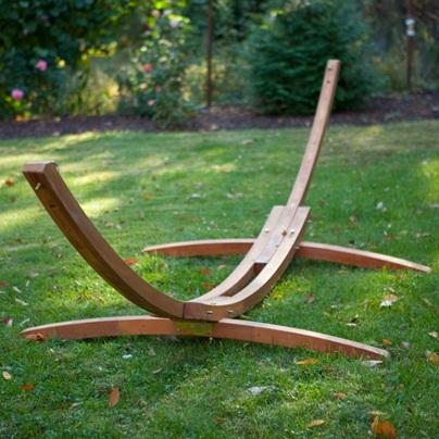 Wooden Arc Hammock by Hayneedle - Hayneedle Recalls Wooden Arc Hammock Stands Due To Fall Hazard