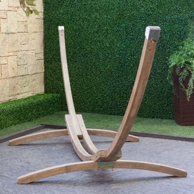 Wooden Arc Hammock by Hayneedle