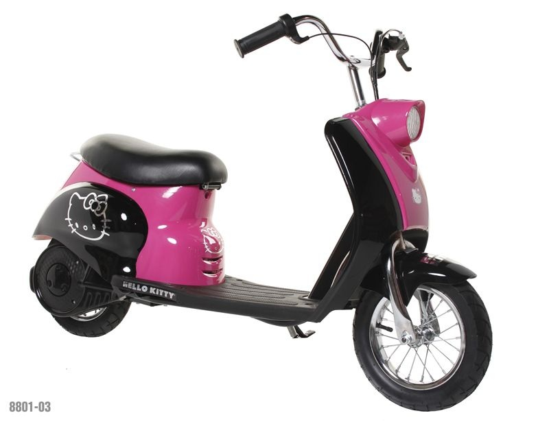 Dynacraft Recalls Hello Kitty City Motor Scooters Due To Fall