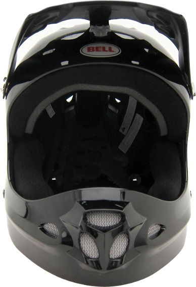 Bell Full Throttle Helmet, front view