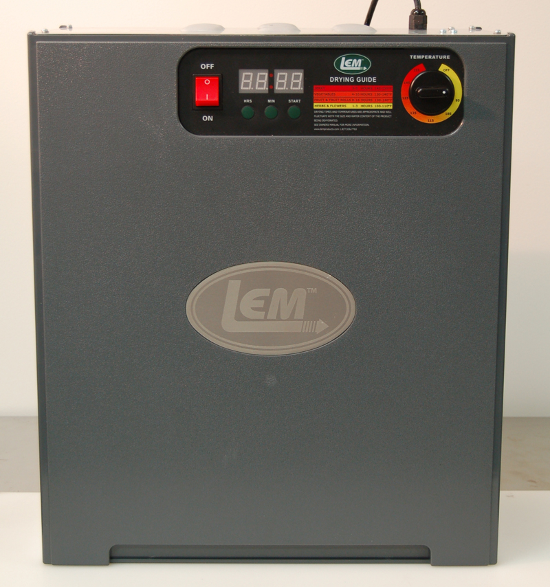 LEM dehydrator top view