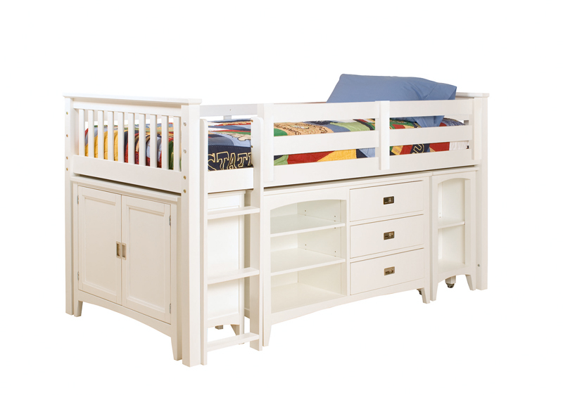 Lea Industries children's loft bed