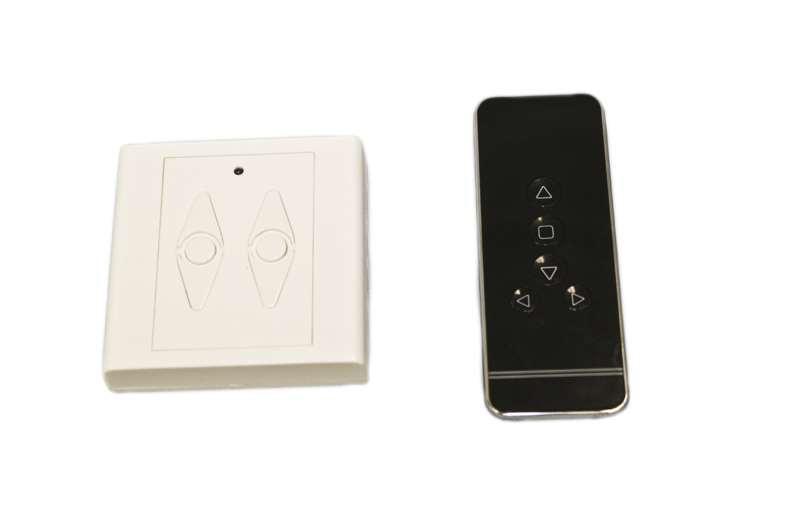 Insolroll wall switch and remote transmitter