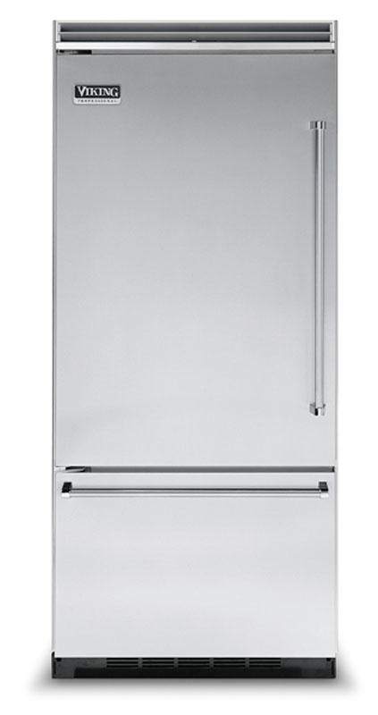 Viking refrigerator with bottom freezer