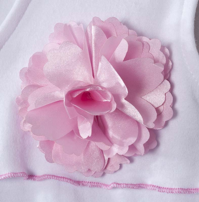 Close-up of flower on HALO SleepSack