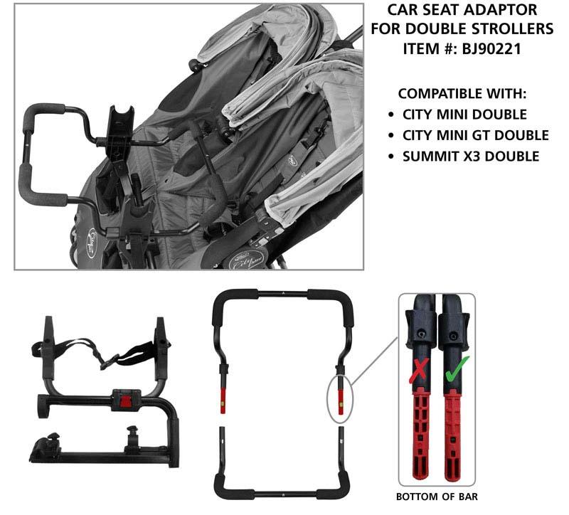 City Mini Jogger Car Seat Adapter
