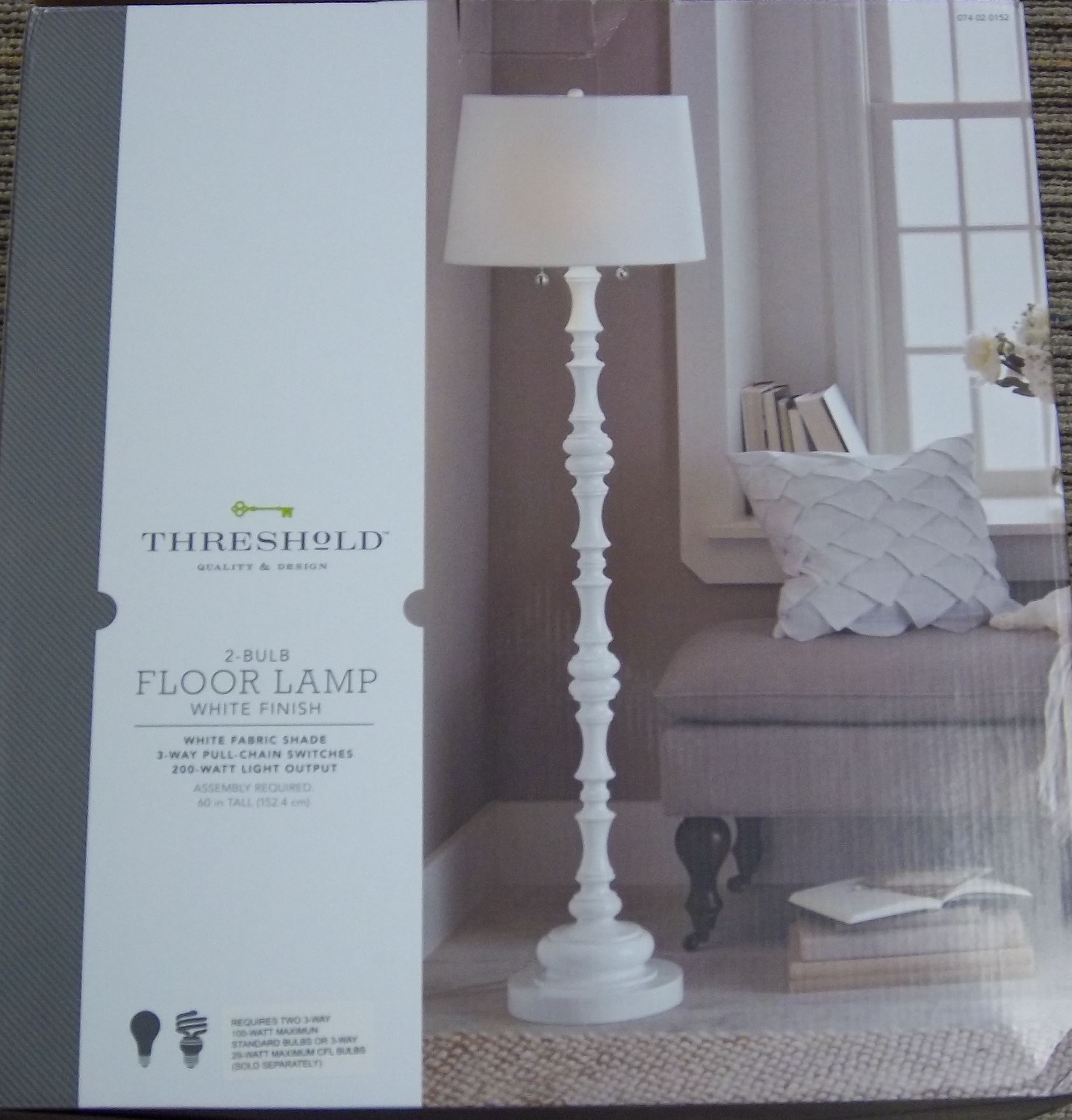 Target Threshold lamp box