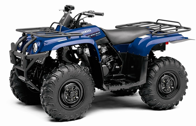 Blue Yamaha Big Bear 400