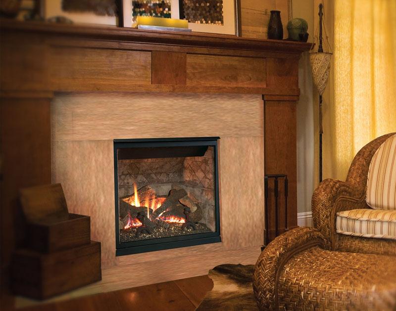 SYM (Symmetry) model fireplace