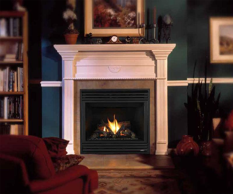MPB model fireplace