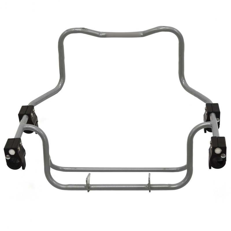 image of Zoom Car Seat Adapter, Adapter clips can loosen on the stroller frame, posing a fall hazard, models include 00945 for Graco, 00946 for Chicco and 00947 for Peg Perego frames