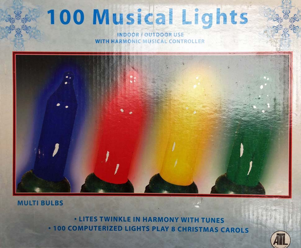 100 musical lights sold at pepe ganga