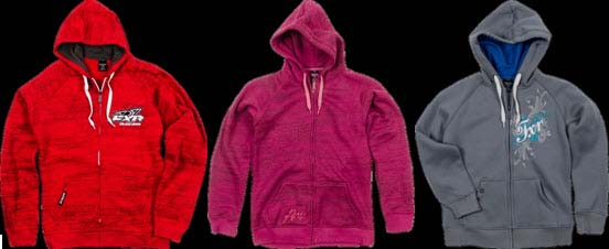 Drift, Phantasy and Sophia Hoodies