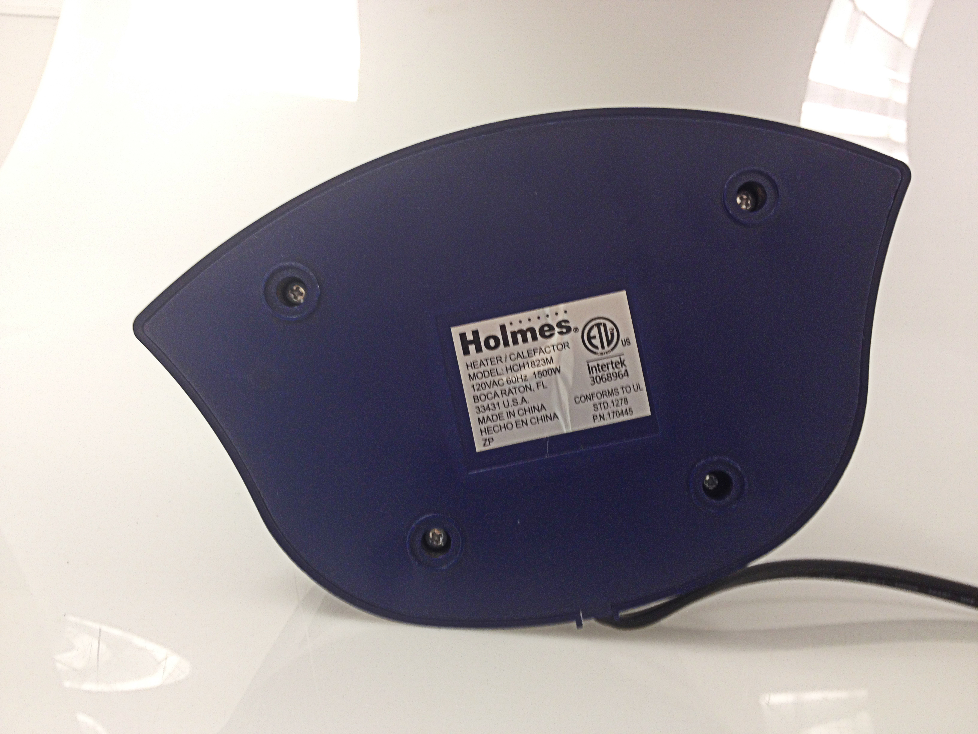 Holmes Ceramic Heater Model Number Location