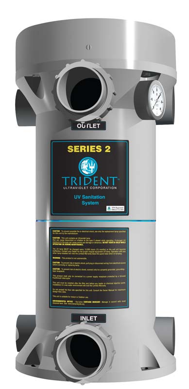 Trident pool sanitation system