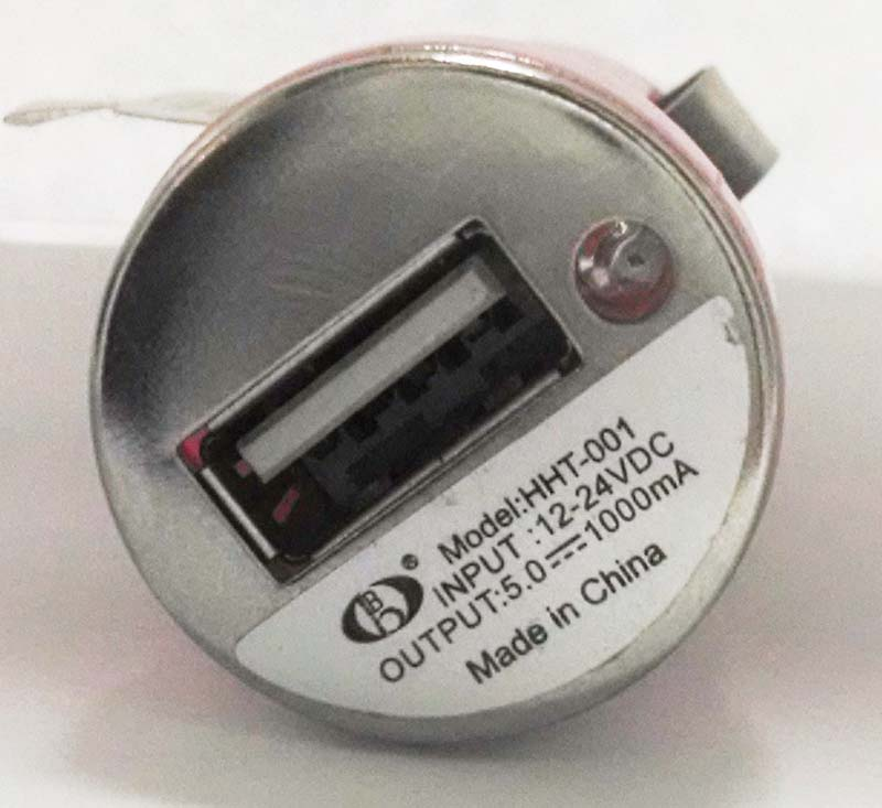 Car adapter with model number