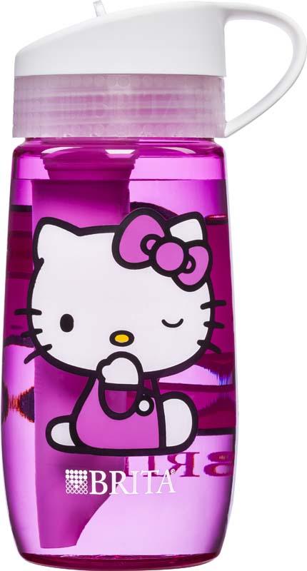 Botella de agua de Hello Kitty® (frente y parte trasera)