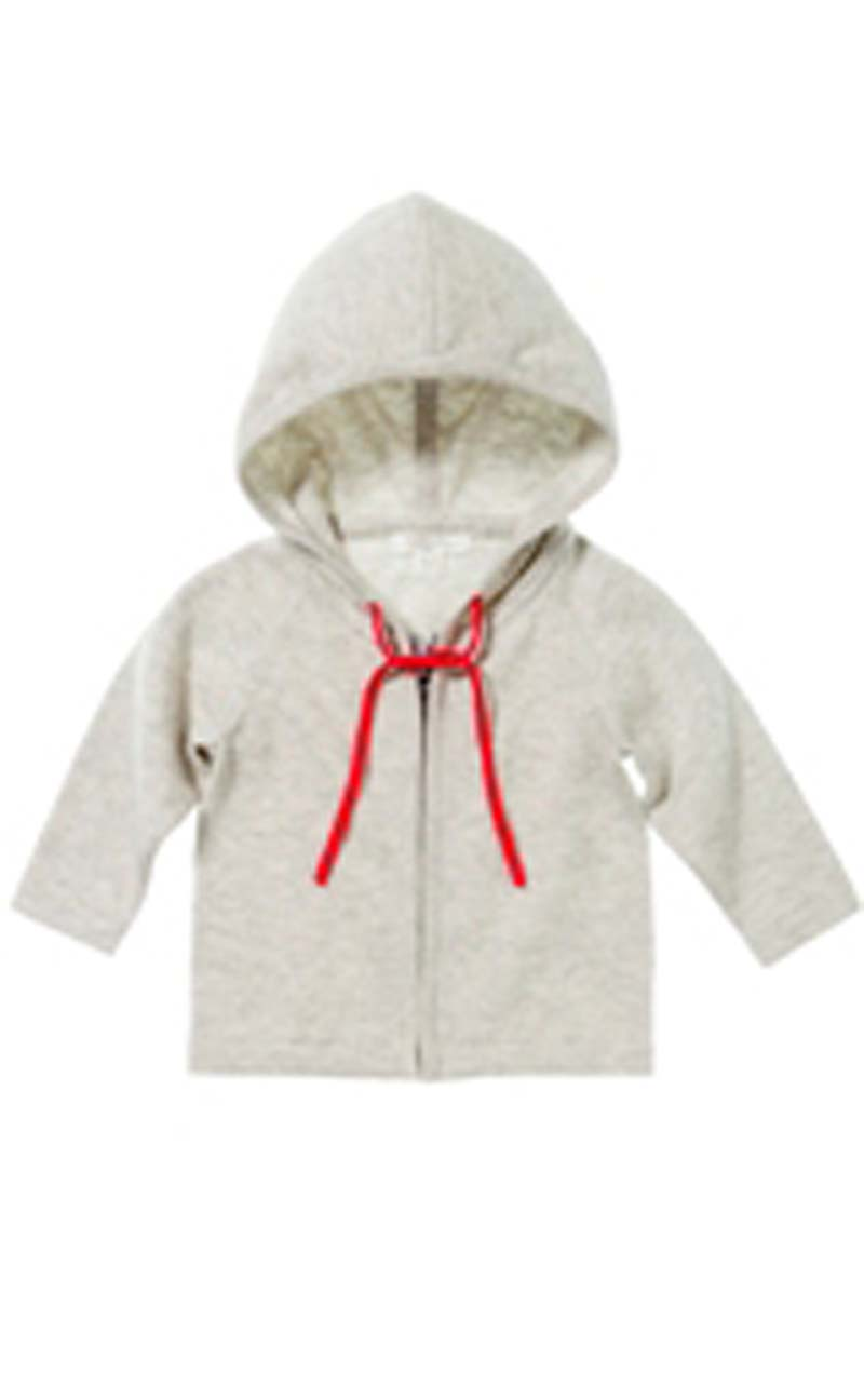 Pure Baby Organics, Boy Zip Through Hoodie