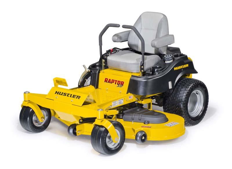 Used industrial excel hustler mower