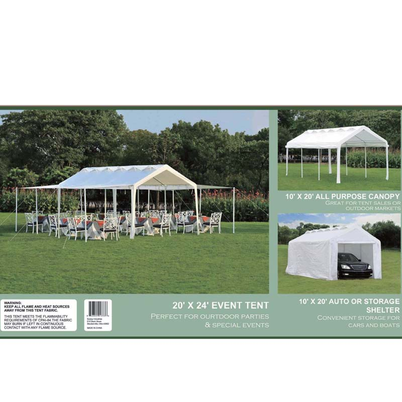 Product packaging for Multi-Purpose Shelter