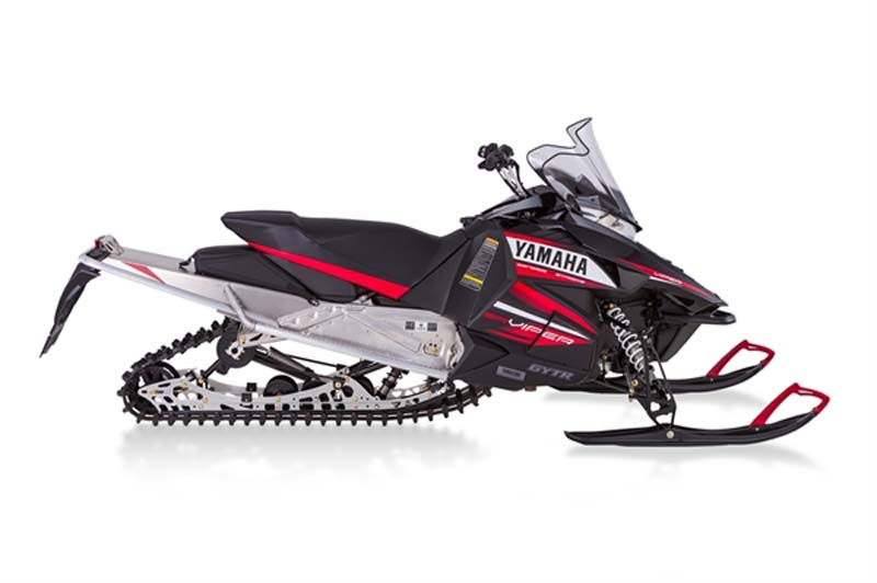 "Black and Red Yamaha 2014 model SR10L (""SRViper LTX"")"