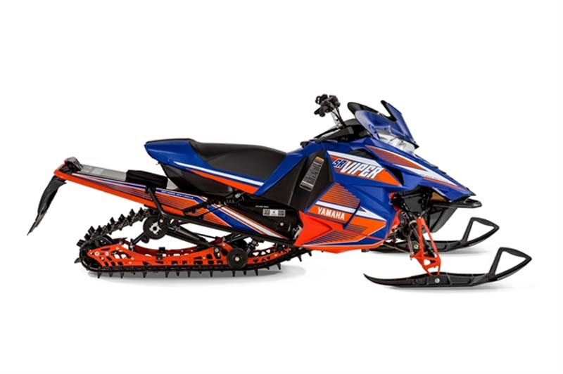 """Blue and White Yamaha 2015 model SR 10LS (""""SRViper LTX SE"""") – Also available in Red/White"""