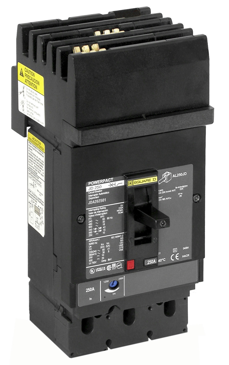 Schneider Electric Recalls Powerpact J Frame Circuit Breakers How Does Breaker Work Molded Case I Line Style