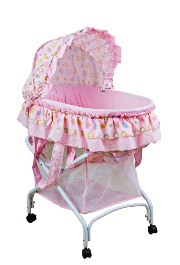 Bassinet model #439A – 2-in-1 Cradle to Bassinet.