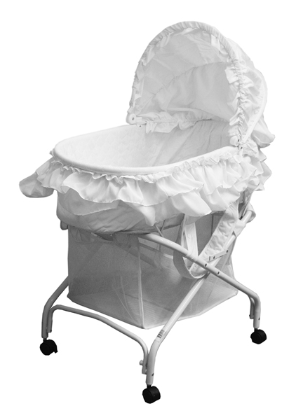 Bassinet model #439W – 2-in-1 Cradle to Bassinet.