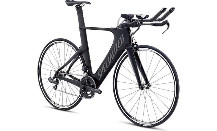 Bicycle with Specialized Aerobar