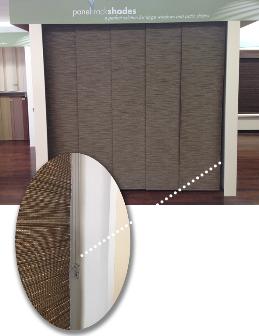 Panel Track window coverings