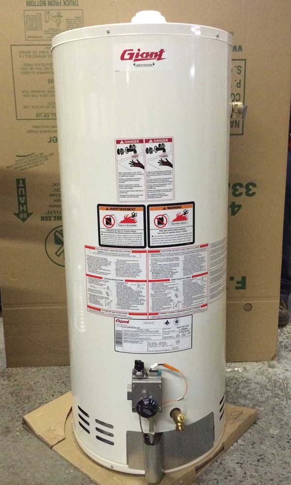 Giant Factories gas water heaters