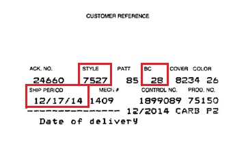 Customer Reference Label