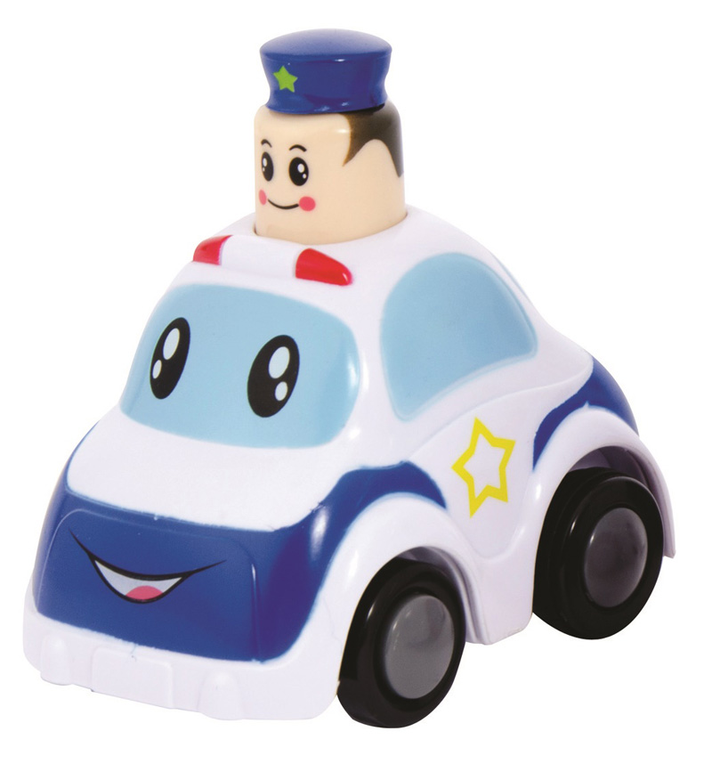 Police Press & Go Toy Vehicle