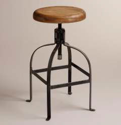 Recalled Cost Plus World Market twist swivel stool