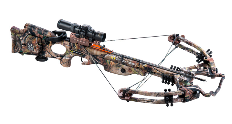 image of TenPoint and Wicked Ridge crossbows