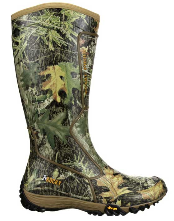 "Rocky ""Silent Hunter"" Rubber Snake Boot, model RKYS153"
